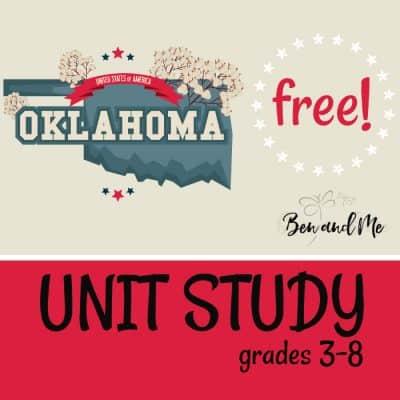 Free! Oklahoma Unit Study