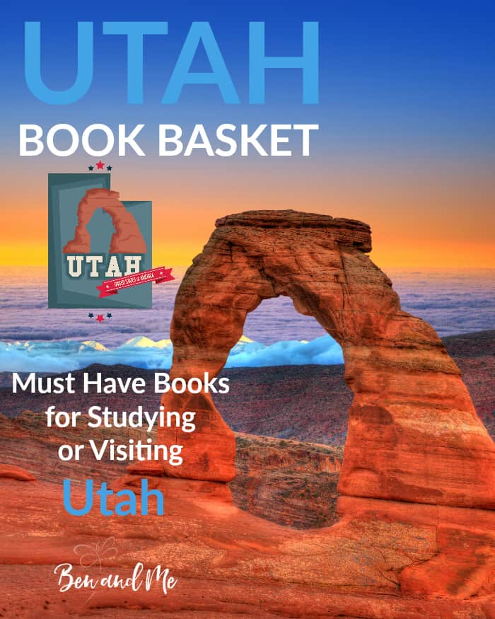 Utah Book Basket -- must read books for visiting or studying The Beehive State!
