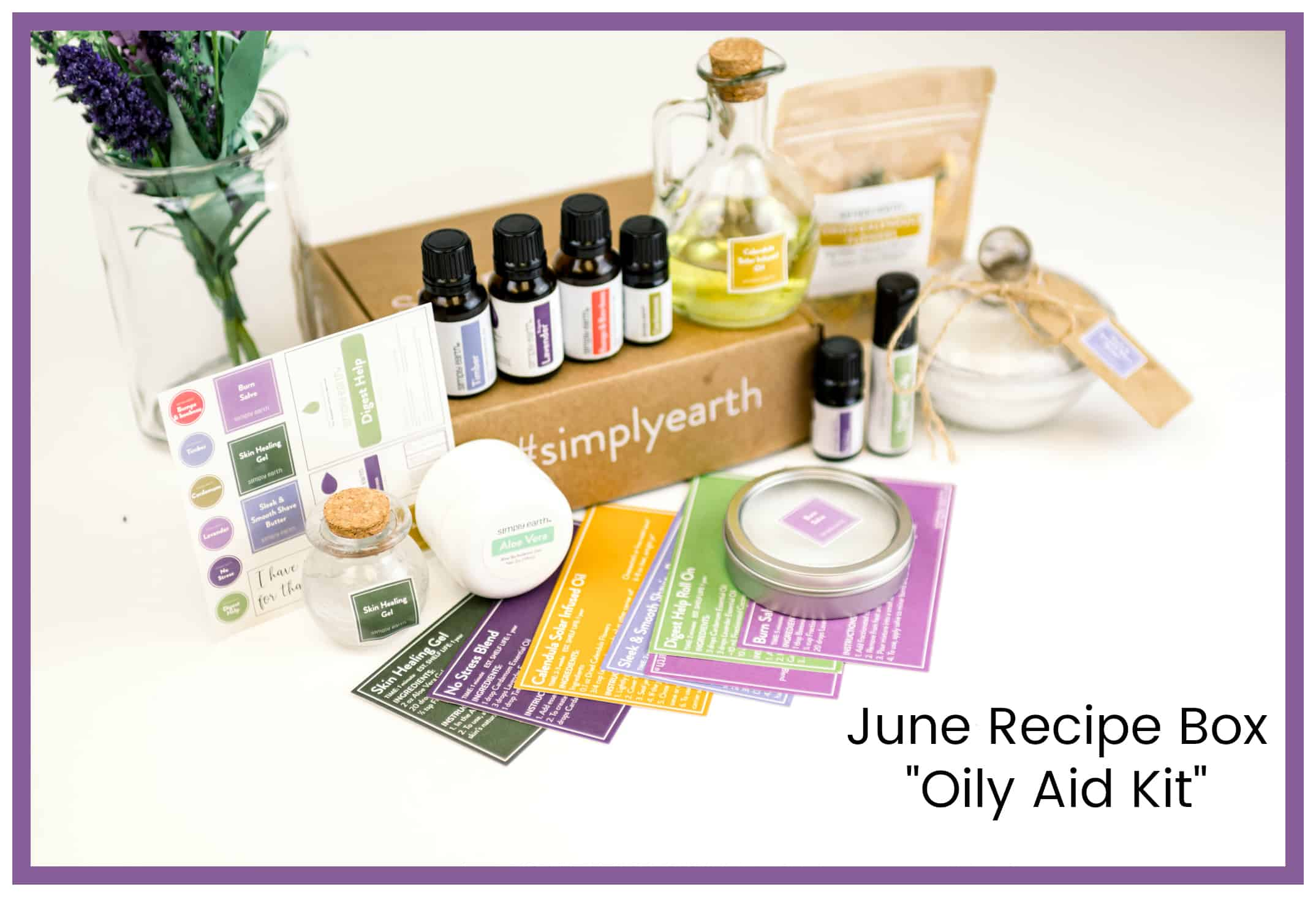 This is a GREAT way for someone new to essential oils to build her collection of essential oils and supplies. It's also a fabulous gift idea for your mom, sister, daughter, niece, or best friend. It's the gift that keeps on giving . . . every month. #essentialoils #aromatherapy #simplyearth