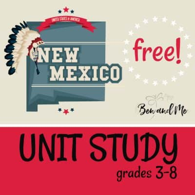 Free! New Mexico Unit Study