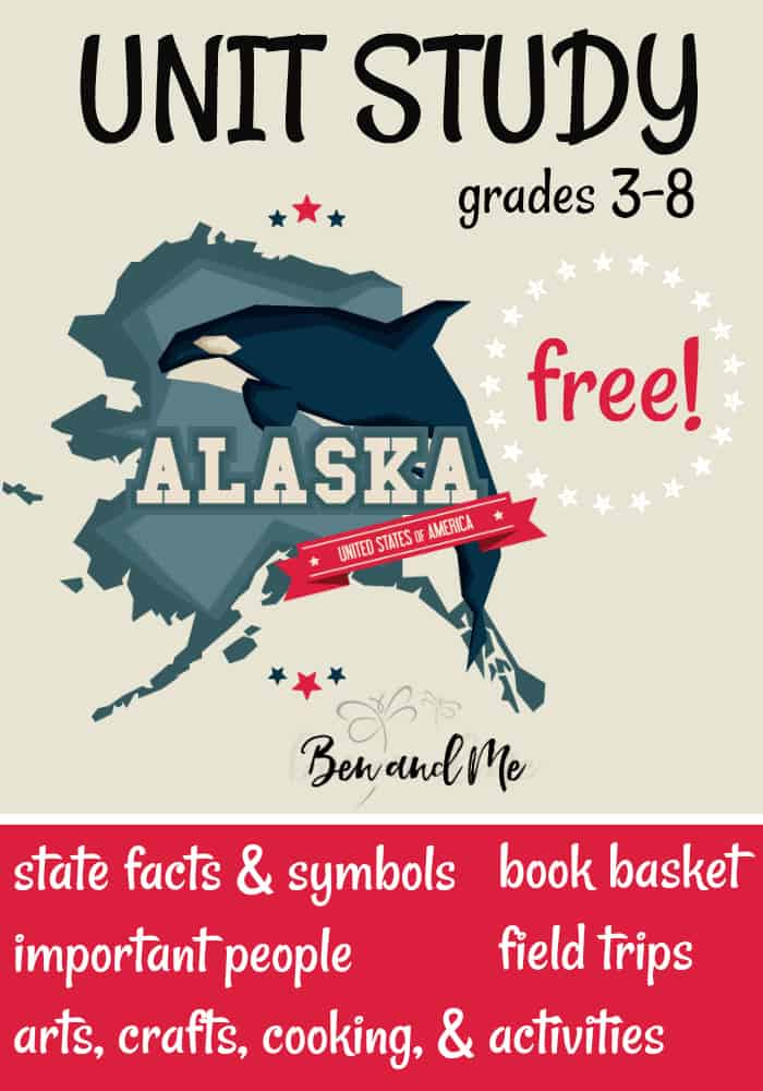 FREE Alaska Unit Study for grades 3-8 -- learn about the