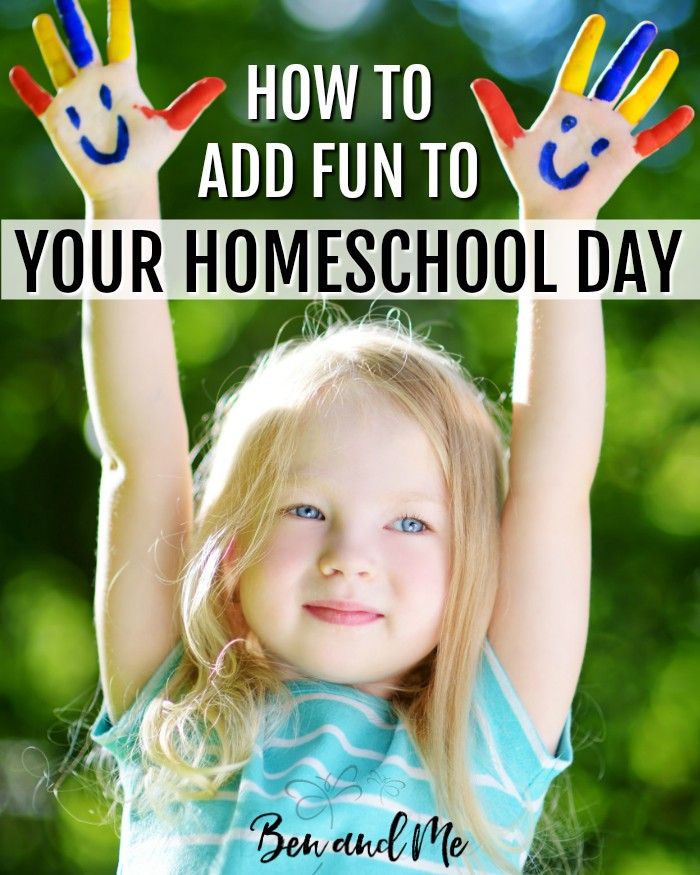 Here are some ways to add fun to your homeschool day. Try adding one new activity to your schedule each week!