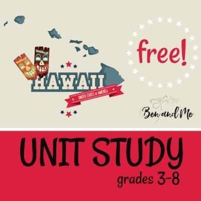 Free! Hawaii Unit Study