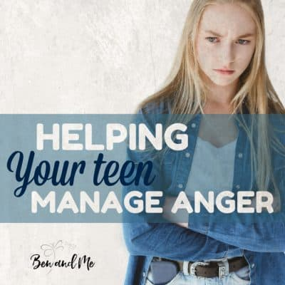 Helping Your Teen Manage Anger