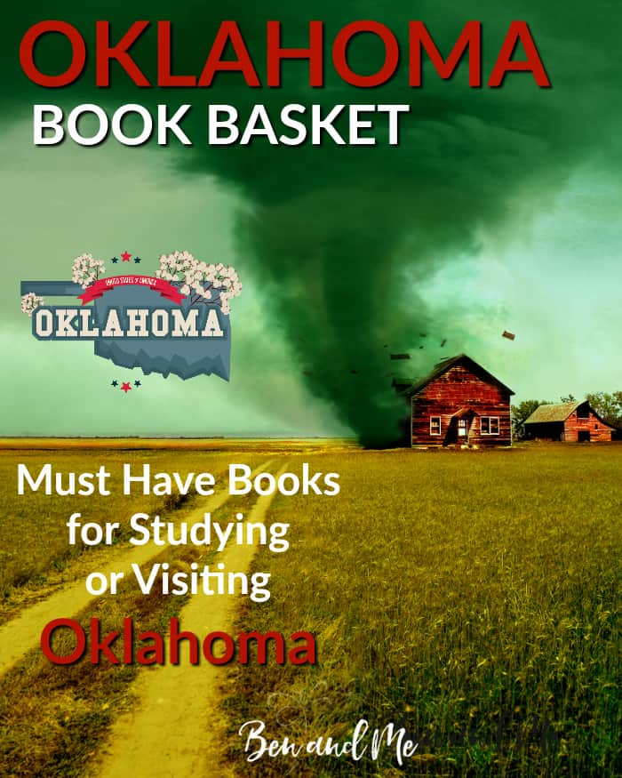 Oklahoma Book Basket -- must read books for visiting or studying The Sooner State!