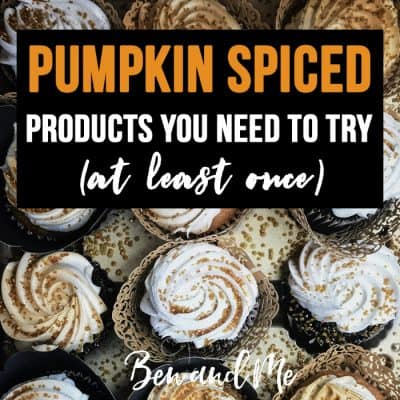 Pumpkin Spiced Products You Need to Try (at least once)