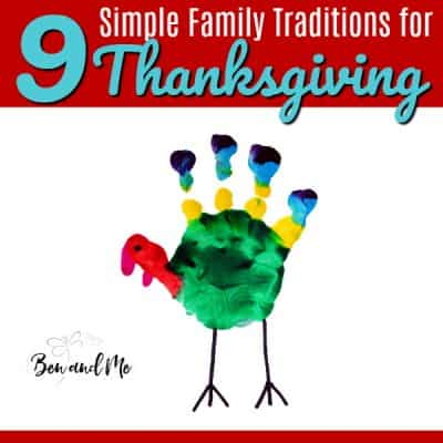 9 Simple Family Traditions for Thanksgiving