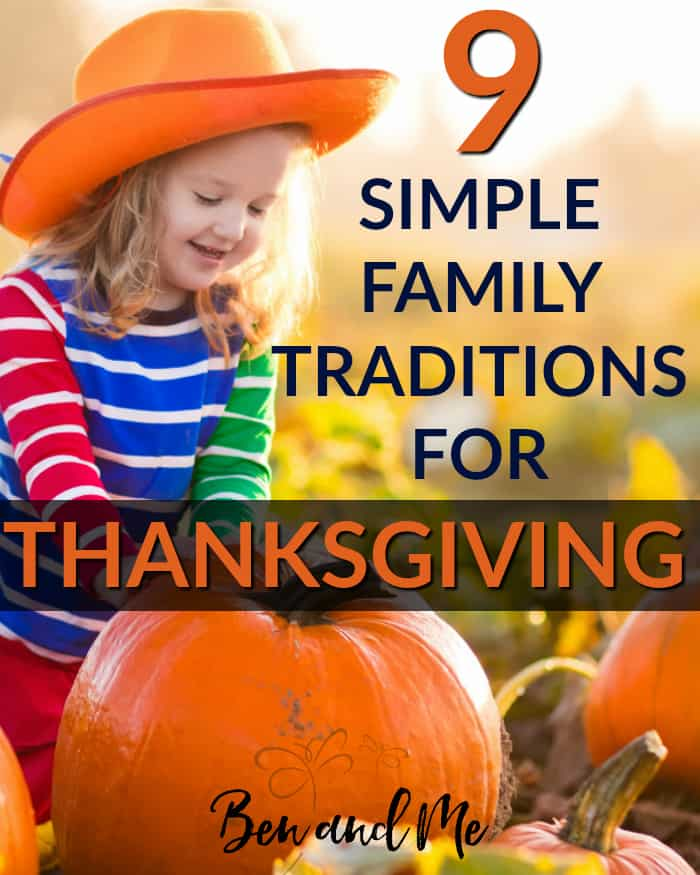 Why not start some Thanksgiving traditions of your own this year? Build some lasting memories that your family will remember and cherish for years to come using these simple ideas.