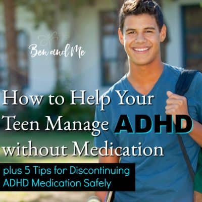 How to Help Your Teen Manage ADHD without Medication