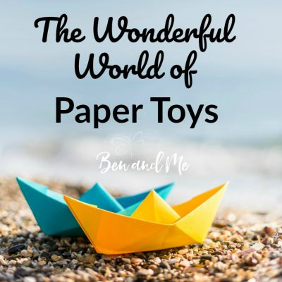 The Wonderful World of Paper Toys (a gift guide)
