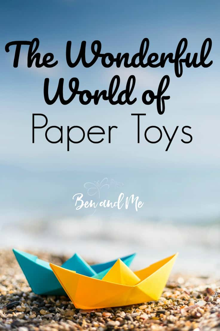 There are a wide variety of themes when it comes to paper toys. From monsters, robots, and even moving toys . . . you will be pleasantly surprised at how far they have come from paper airplanes!
