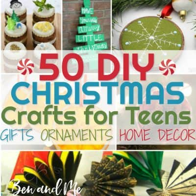 DIY Christmas Crafts for Teens