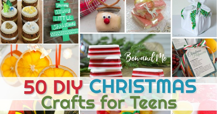 Diy christmas crafts for teens ben and me for Christmas crafts for teens