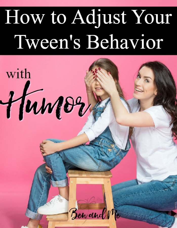 When kids reach middle school age, their attitudes begin to change. So, what can you do to help adjust the tween behavior you don't appreciate? Try a little humor. https://www.benandme.com/2017/12/adjust-tween-behavior-humor.html