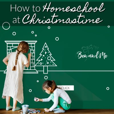 How to Homeschool at Christmastime (and a cash giveaway)