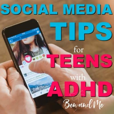 Social Media Tips for Teens with ADHD