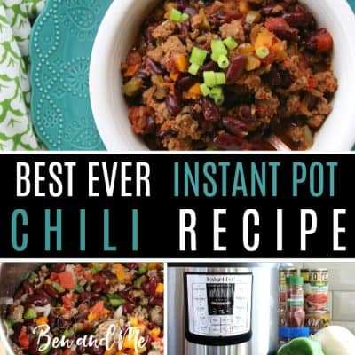 Shelly's Best Ever Instant Pot Chili Recipe