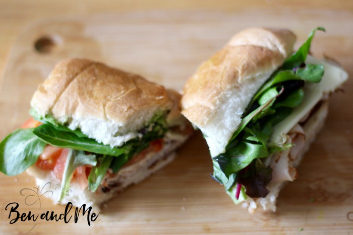 Celebrate the sugaring season with this Vermont Turkey Sandwich with Maple Syrup Aioli #Vermont #maplesyrup #recipes #recipe #maplesyruprecipes