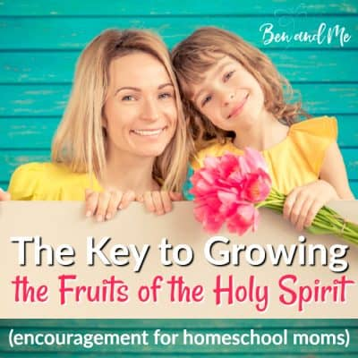 The Key to Growing the Fruits of the Holy Spirit