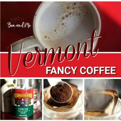 Vermont Fancy Coffee with Maple Syrup