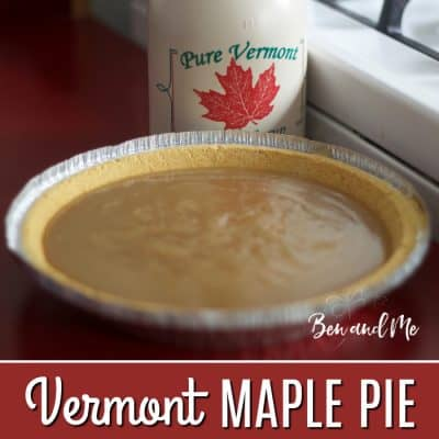 Vermont Maple Pie Recipe