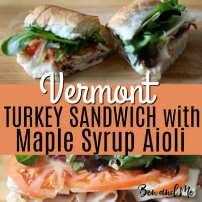 Vermont Turkey Sandwich with Maple Syrup Aioli