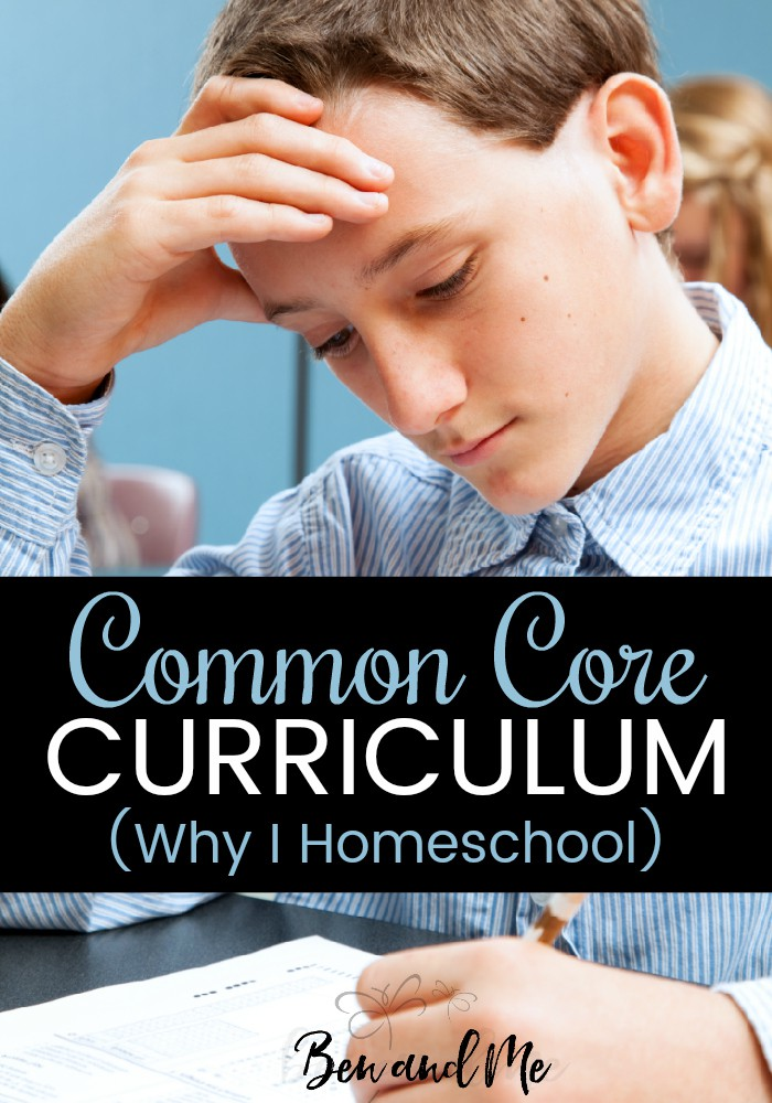 A former teacher, who understands Common Core education firsthand, explains it in layman's terms and then shares why she chooses to homeschool. #homeschool #homeschooling #sommoncore #whyhomeschool