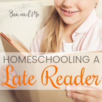 Homeschooling a Late Reader