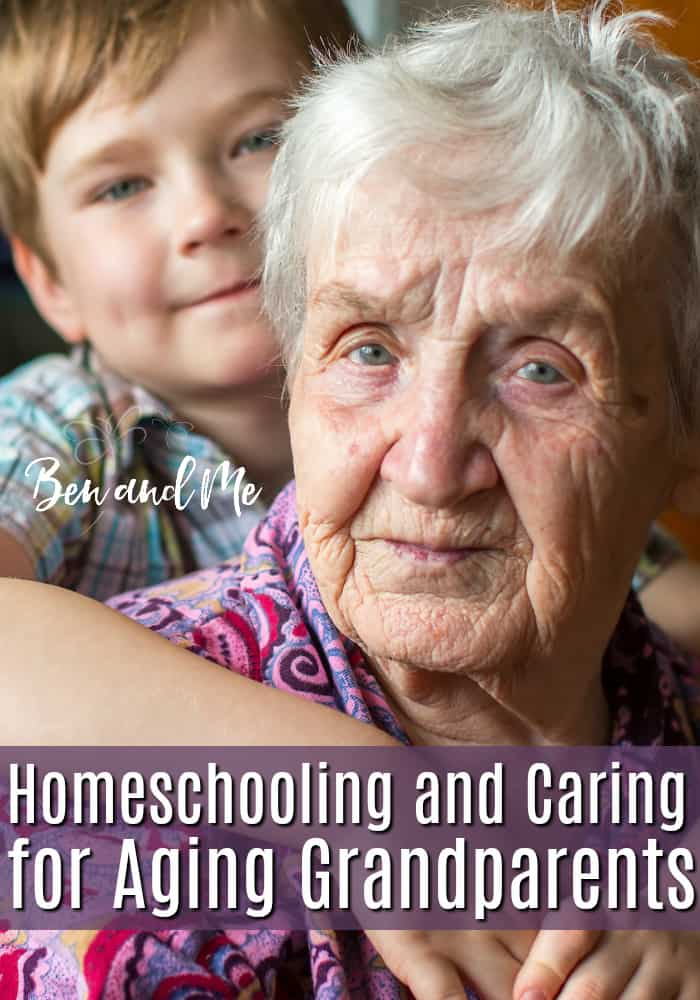 Perhaps you are entering a season of having to decide whether or not homeschooling and caring for aging grandparents will work for your family. I can't make the decision for you, however, I encourage you to be courageous and think outside the box in regards to education. #homeschool #homeschooling #whyhomeschool