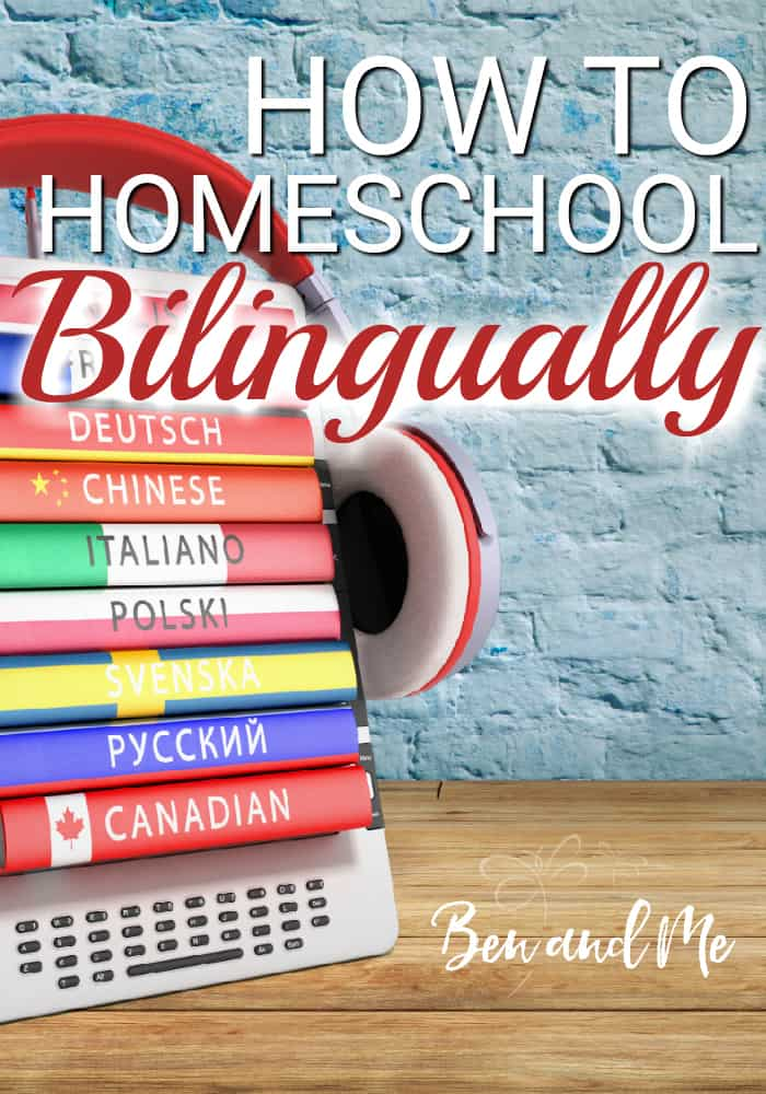 Homeschooling bilingually is more than learning a second language. Bilingual Homeschooling is basically teaching each and every subject in 2 languages. Come learn why and how to homeschool bilingually. #homeschool #homeschooling #whyhomeschool #bilingualeducation