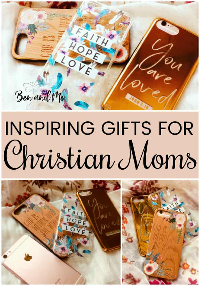 With Mother's Day just around the corner, you may be looking for a special gift for that Christian mom in your life. Here are some gifts for Christian moms that will both inspire and bless her. #giftideas #giftsforher #giftsformom #mothersday