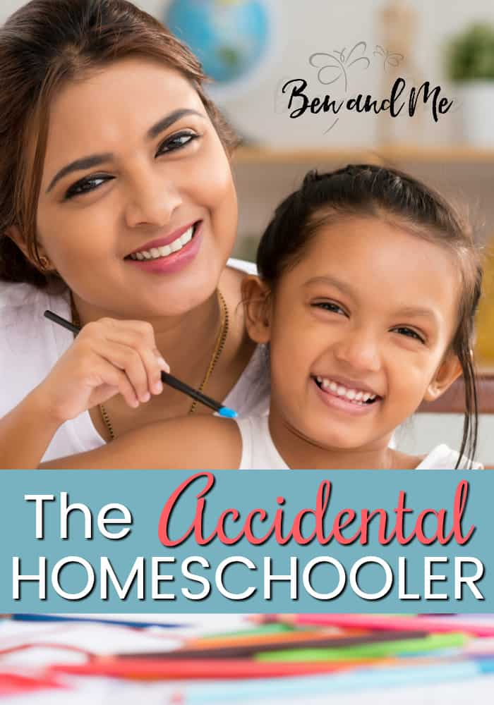 When the public school suddenly didn't measure up to this mom's standard, she found herself an accidental homeschooler. It's been 8 years now and she's not looking back! #homeschool #homeschooling #whyhomeschool