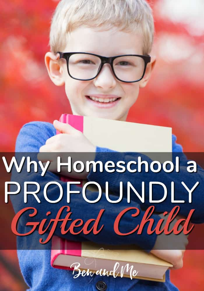Why homeschool a profoundly gifted child? The basic underlying tenet of gifted education – meet children where they are, wherever that is, and move them forward towards their potential – is best-practice for ALL children. #homeschool #homeschooling #whyhomeschool #giftedness #giftedkids