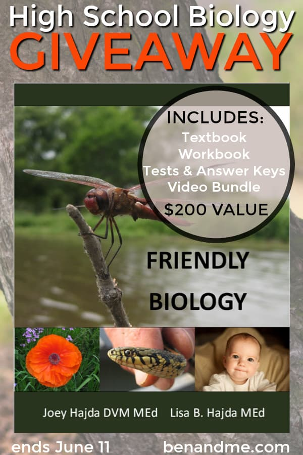 Video is an awesome way to enhance your homeschool curriculum. Come learn why we find it so valuable in our homeschool. Plus, learn about our favorite high school biology curriculum and enter to win a copy! #homeschool #homeschooling #homeschoolcurriculum #science #biology #friendlybiology