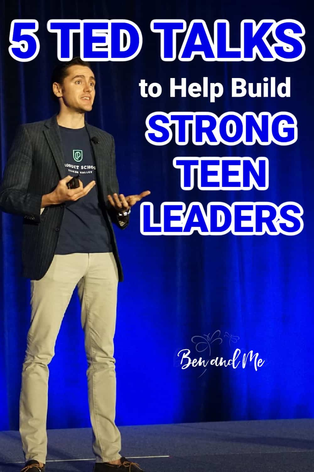 TED talks to build strong teen leaders