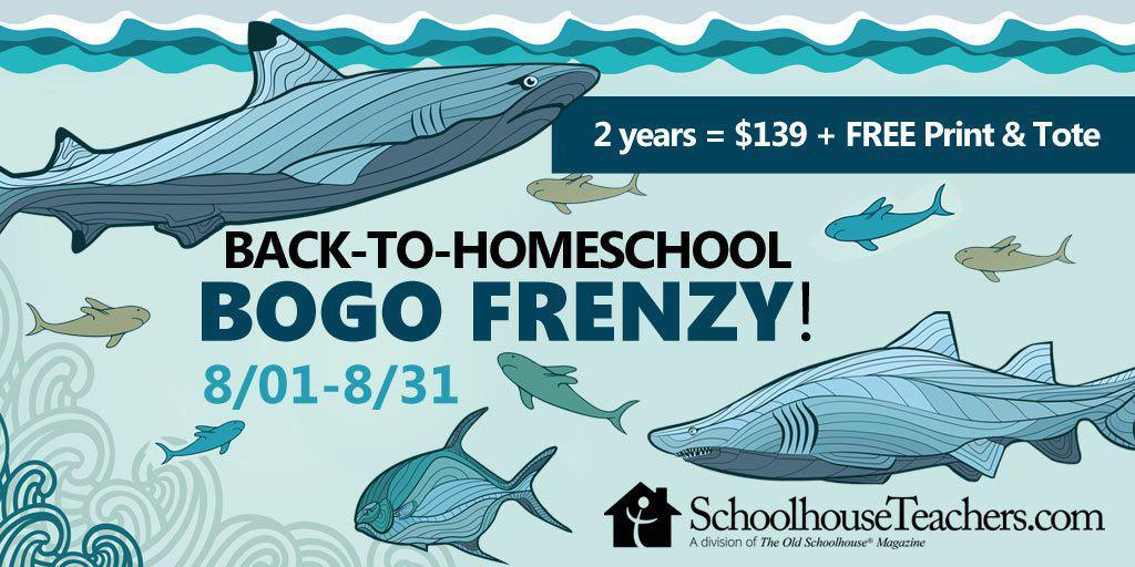 Back to Homeschool BOGO sale at Schoolhouse Teachers. 400 courses for grades PreK-12. #homeschool #homeschooling #homeschooldeals