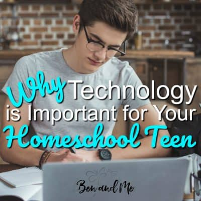 Why Technology Is Important for Your Homeschool Teen
