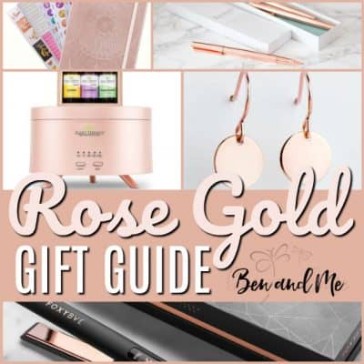 Rose Gold Gift Guide (with a giveaway!)