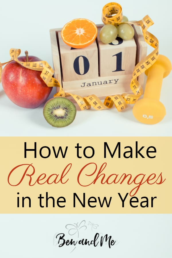 It's human nature to find ourselves wanting to make improvements for one reason or another. But change is hard. It takes an incredible amount of work. And sometimes I think we don't really carefully think out the steps it will take to achieve the end results we desire. Here's how to make real changes in the new year. #newyearsresolutions #resolutions #newyeargoals #goalsetting #makingchanges
