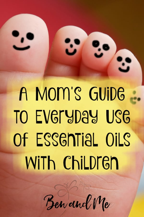 Many essential oils can be used topically or via an essential oil diffuser for children. Uses include support of body functions, aid in healing digestive upset, help with calming and sleep, and more. #essentialoils #aromatherapy #wellness