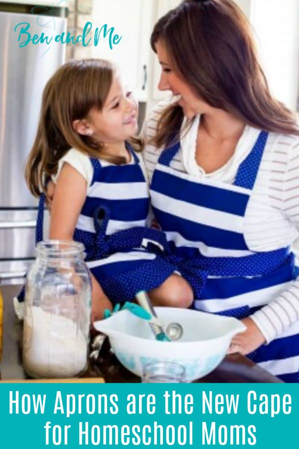 Let me share with you a scenario of how cute aprons are the new cape for homeschool moms . #homeschool #aprons #flirtyaprons #homeschoolmoms #hsmoms #hsmommas #homemaking #cuteaprons #shabbychic #shabbychicaprons