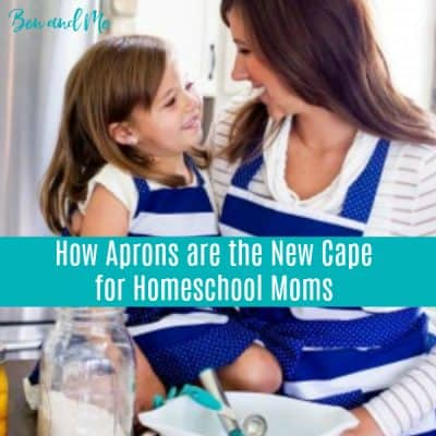 How Cute Aprons are the New Cape for Homeschool Moms