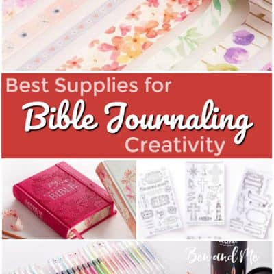 The Best Supplies for Bible Journaling Creativity