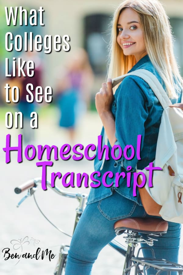 We have many homeschool families who have gone before us to guide us and give us confidence that we can create a useful, purposeful, and impressive homeschool transcript. So, let's dive into what colleges like to see on a homeschool transcript. #homeschool #homeschooling #highschool #highschooltranscript #homeschooltranscript #homeschooltips #homeschoolmom