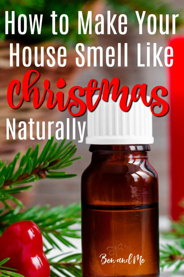 How To Make Your House Smell Like Christmas Naturally Ben And Me