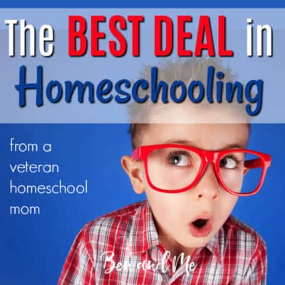 The Best Deal in Homeschooling