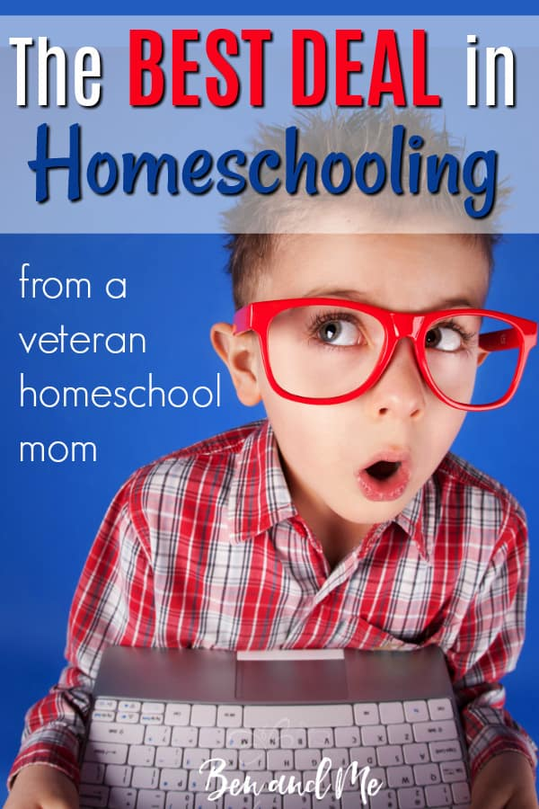 This really is the BEST DEAL in homeschooling and one of our personal favorite homeschool resources. It fits well for many homeschool styles, including Charlotte Mason, classical, unit study, delight-directed, or more traditional. And the high school elective offerings cannot be beaten anywhere. #homeschool #frugalhomeschool #homeschoolmoms #bestdealsinhomeschooling #homeschoolcurriculum