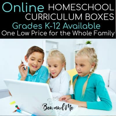 Online Homeschool Curriculum Boxes by Grade Level