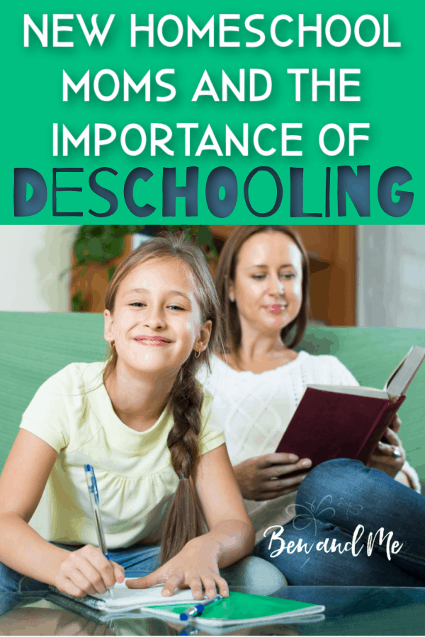Are you a brand new homeschool mom who just pulled her child out of school? As you transition your children from the public or private school classroom to the world of homeschooling, you've probably run into the term deschooling. If you haven't, please allow me to introduce you to the concept, for your benefit and that of your child. #homeschool #howtohomeschool #starthomeschooling #deschooling #homeschoolmom