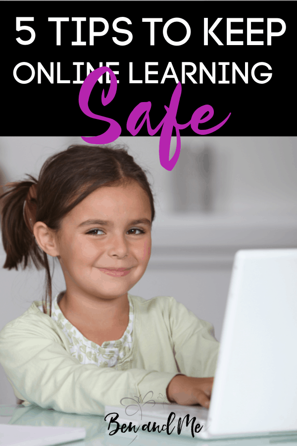 Although online learning isn't quite new for the modern homeschooling family, we still are not exempt from the dangers of outsourcing our children's education with a virtual course. These tips and suggestions can and should be taken into consideration by anyone who plans to use the virtual classroom as a means of learning for their child. #homeschool #onlinelearning #onlinesafety